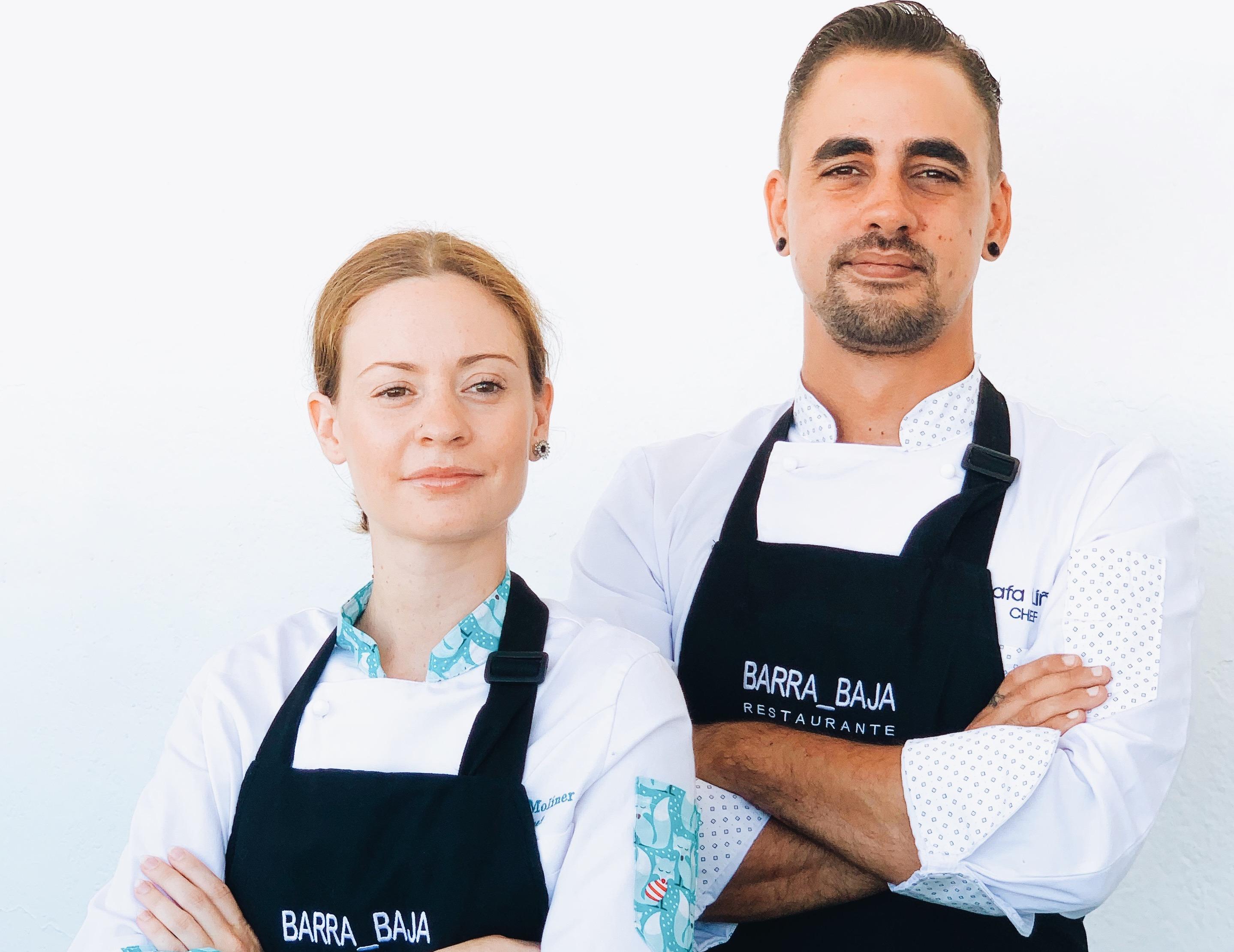 Rafa Liñán y Patri Moliner